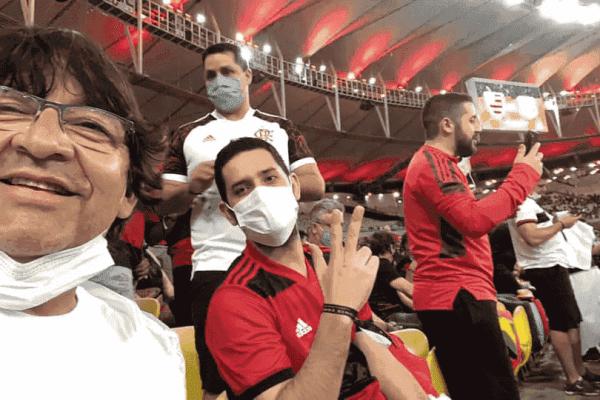 Vereador de Jardim recebe diária para seminário e vai assistir jogo do Flamengo no Maracanã