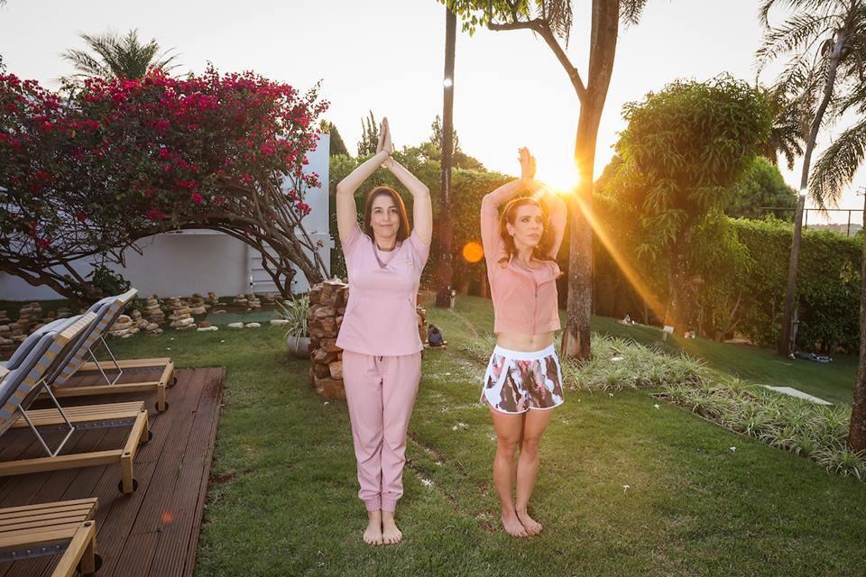 Simone Bandeira e Michella Marys