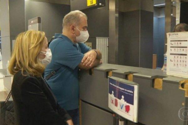 Queiroga retorna ao Brasil, após cumprir quarentena nos EUA