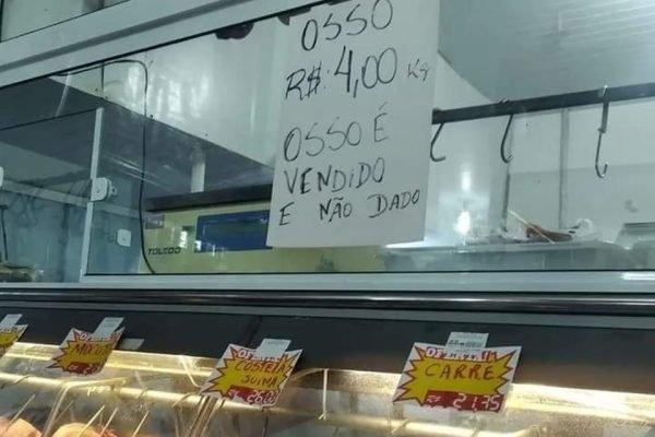 Osso vendido em Florianópolis