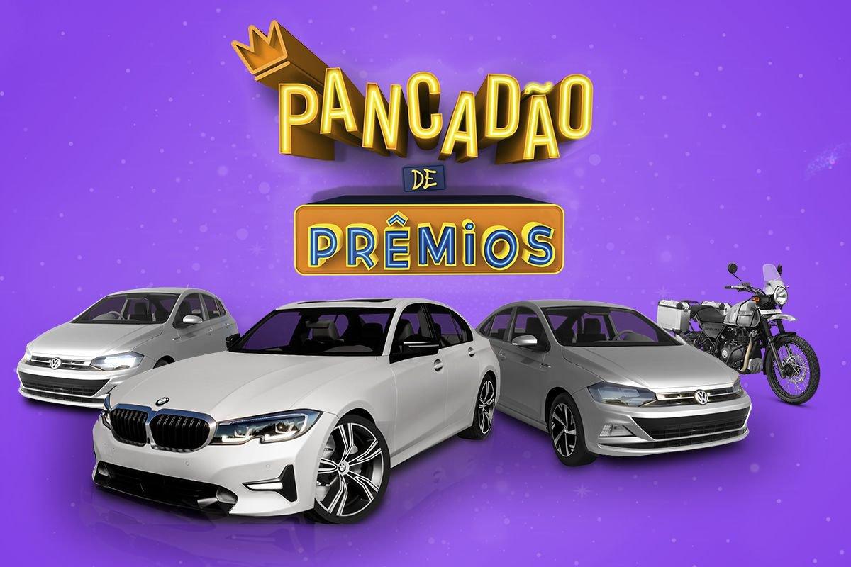 Pancadão de Prêmios: de BMW 320i a Iphone 12. Veja como participar