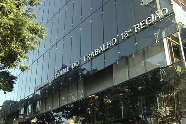 Sede do Tribunal Regional do Trabalho em Goiás (TRT-18), em Goiânia