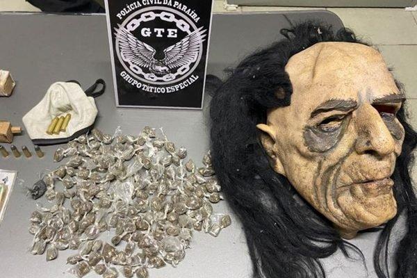Mascarados: trio suspeito de praticar roubos com disfarce é detido em operação da polícia