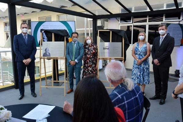 Sesc-DF nomeia espaços em homenagem a protagonistas da instituição