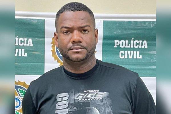 Jadson Sousa, o Jaú, chefe do tráfico de drogas em Salvador, preso no Rio de Janeiro
