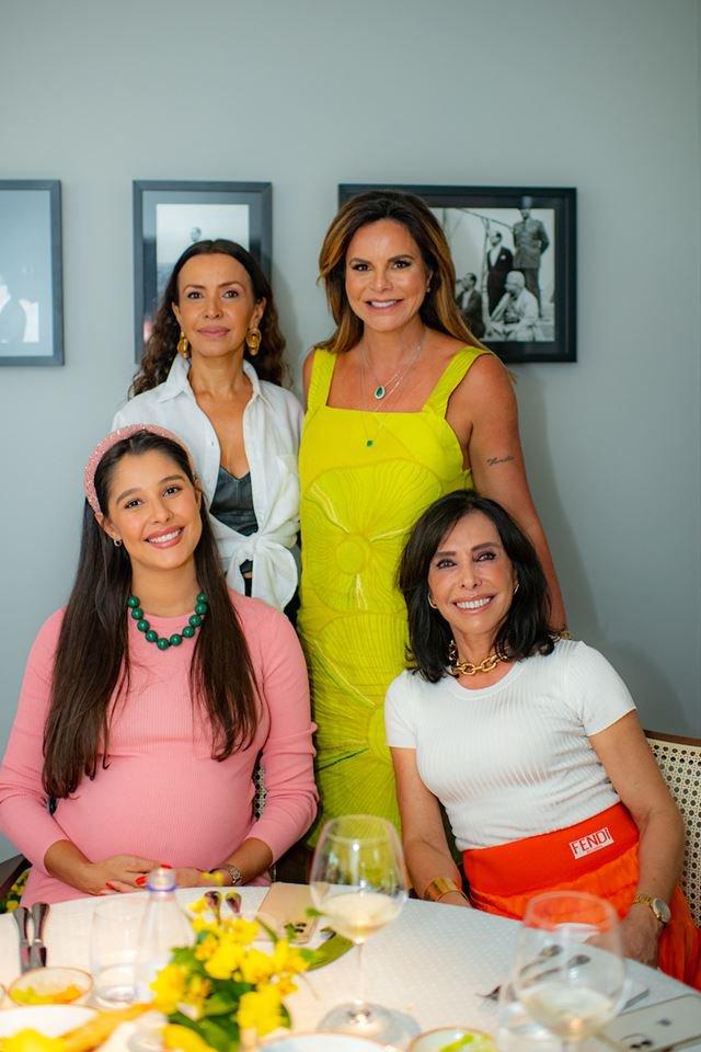 Claudia Meireles, Claudia Salomão, Priscila Sanchez e Cleucy Oliveira