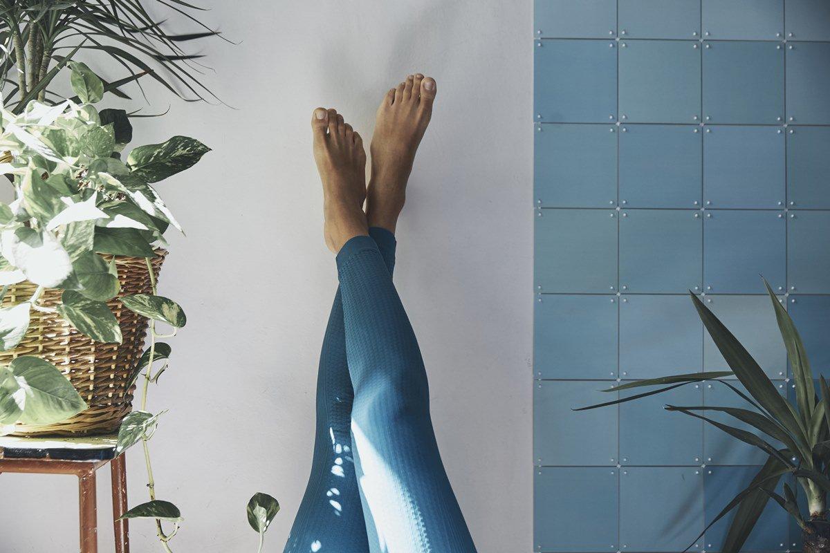 Pernas para ar cima
