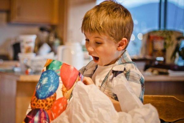 Presente surpresa Dia das Crianças