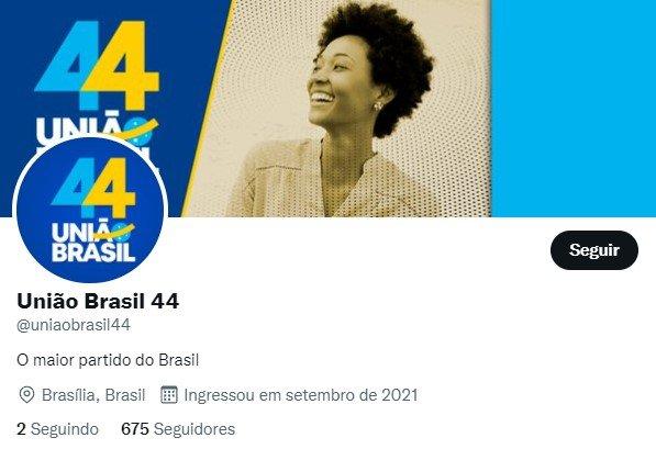 Twitter do União Brasil