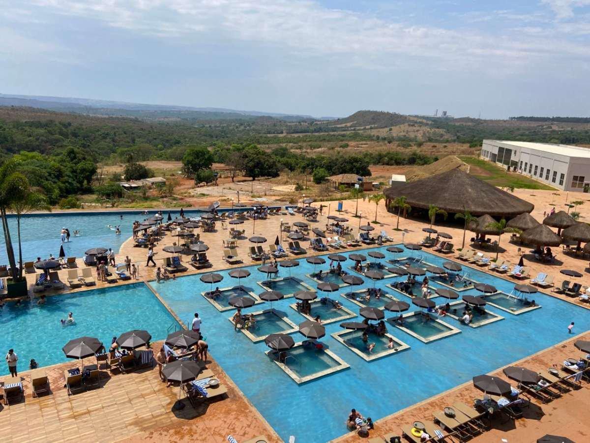 Tauá Resort: piscinas maravilhosas, spa, sport bar e muito mais