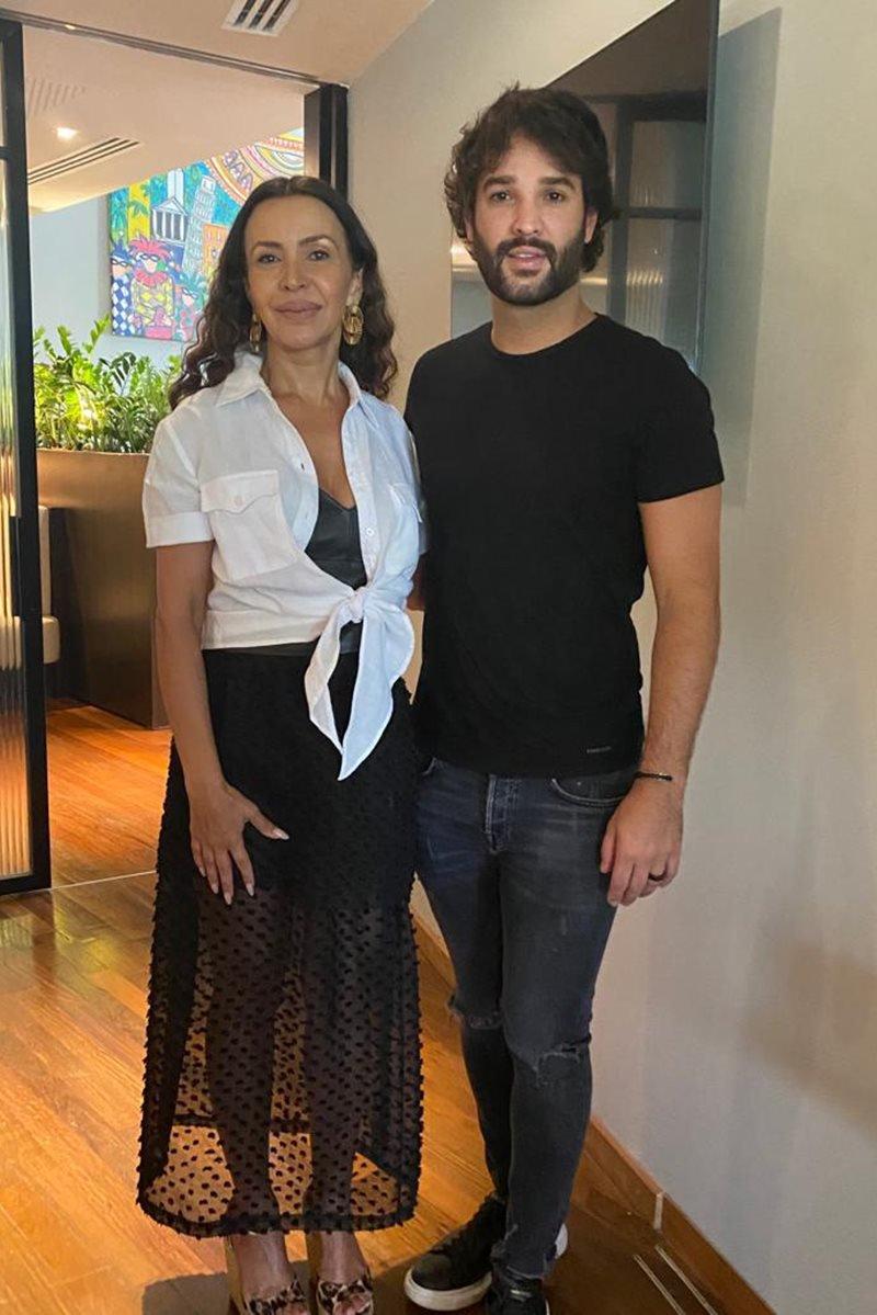Claudia Meireles e Du Nunes
