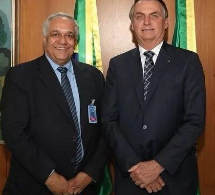Emmanuel Fortes e Bolsonaro