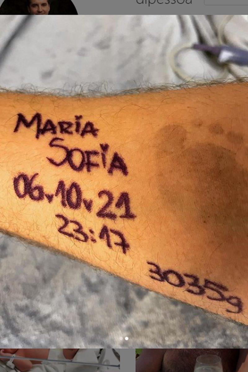 Maria Sofia e Diego Pessoa