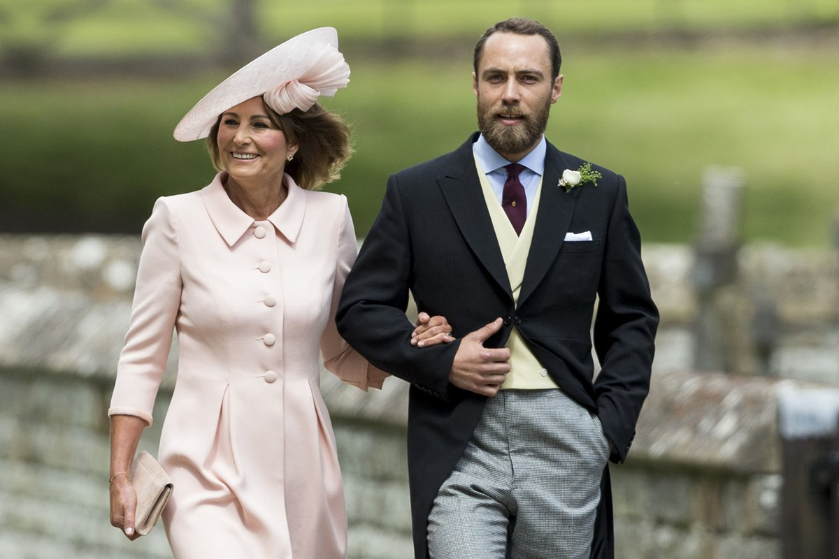 Carole e James Middleton