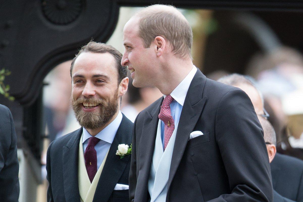 James Middleton e príncipe William
