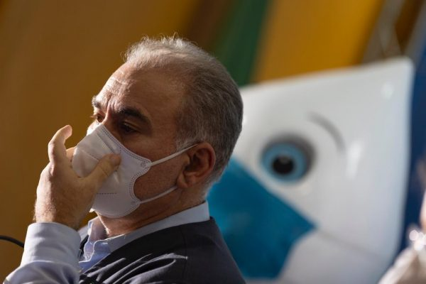 ministro da Saúde, Marcelo Queiroga, me coletiva de imprensa de apresentação do cronograma de vacinação da Covid-19 para 2022