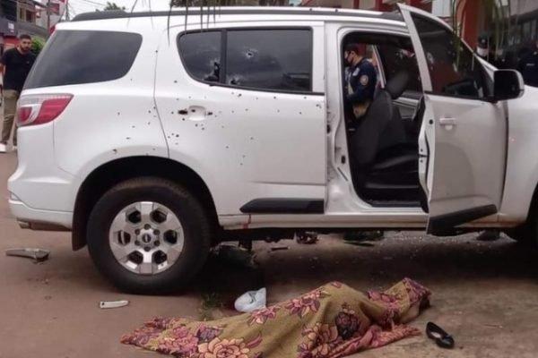 Ataque mata filha de governador do MS e mais três na fronteira