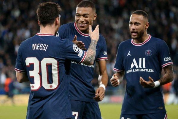 Messi, Mbappé e Neymar