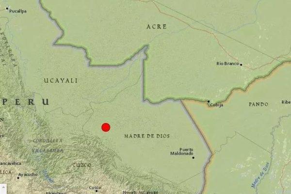 Terremoto no Peru é sentido em ao menos sete cidades do Acre e de Rondônia