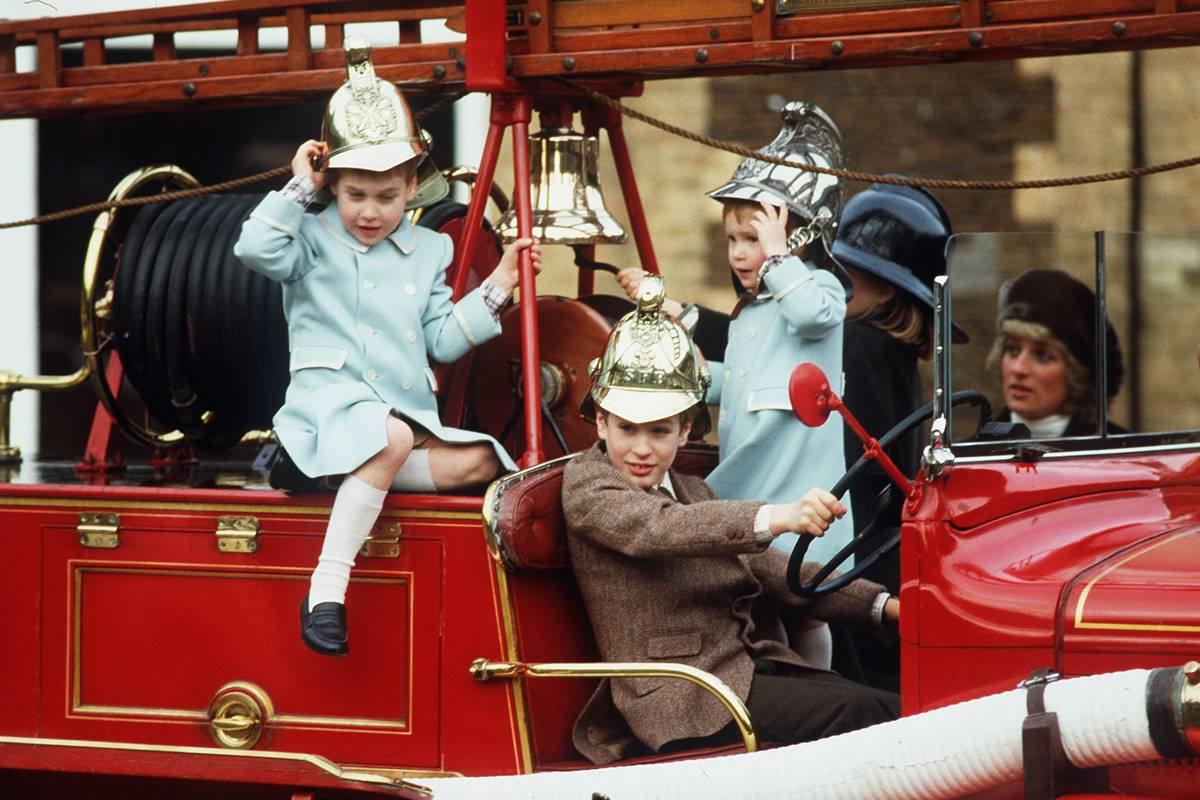 Príncipe William e Harry