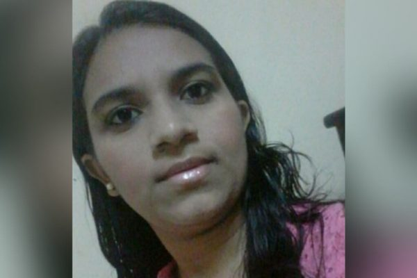 Luciana Pereira da Silva teria sido assassinada pelo ex-marido