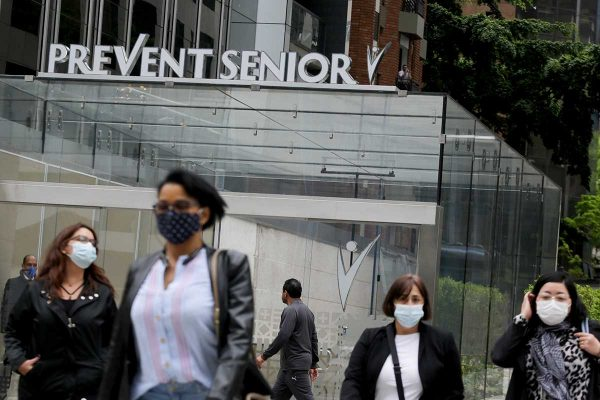 Prevent Senior -Hospital da rede Médica Prevent Senior na Avenida Paulista em SP