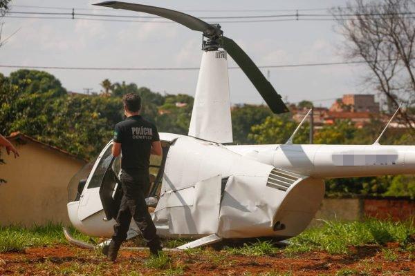 Helicóptero faz pouso forçado em Goiânia