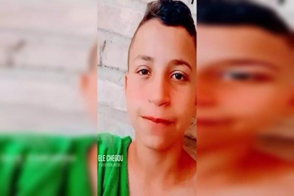 Riquelme, de 15 anos, foi assassinado a tiros no Maranhão