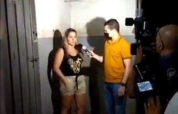 Jornalista é presa pela 2ª vez pela Polícia Militar com tornozeleira