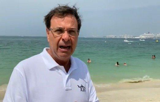 Ministro do Turismo, Gilson Machado, em Dubai