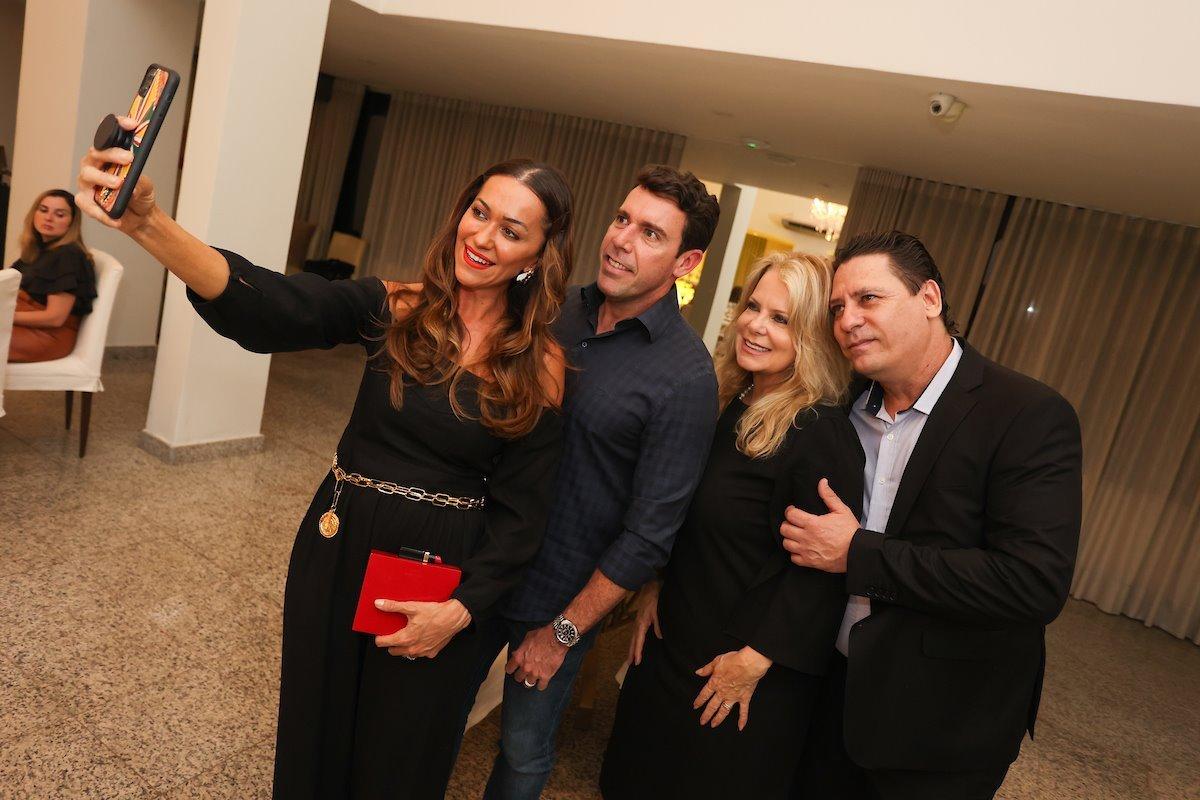 13/10/2021. Brasília-DF. JPG Global convida para jantar com a participação de Andrea Hollaender. Fotos: Arthur Menescal/Especial Metrópoles