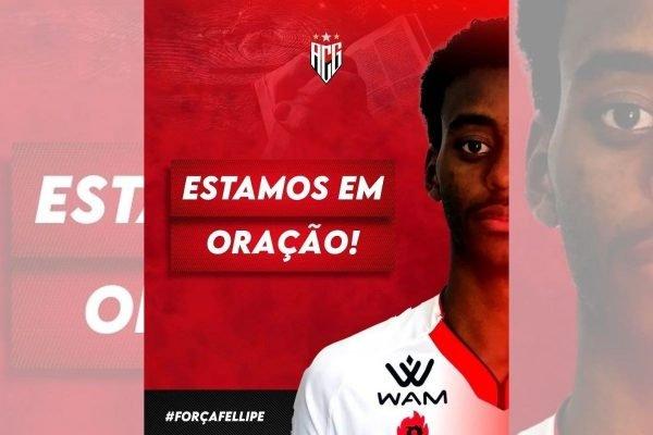 Zagueiro Fellipe, do Atlético-GO