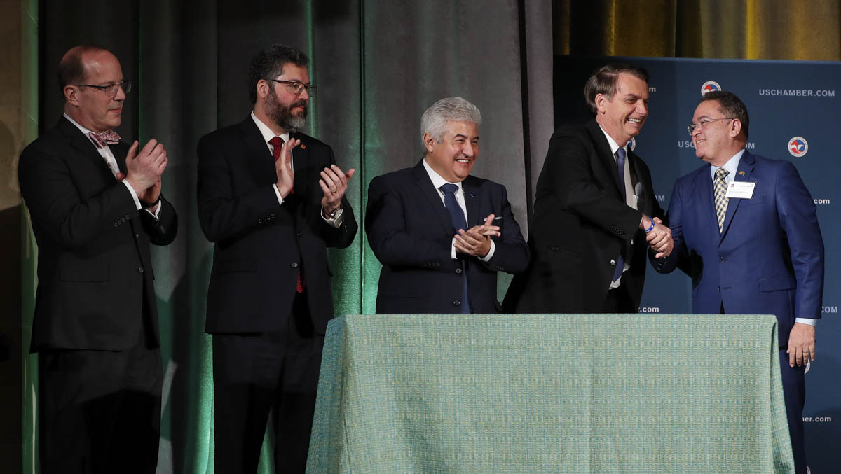 18/03/2019 Cerimônia de Assinatura de Atos na U.S. Chamber of C