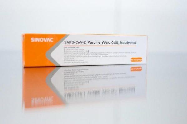 vacina Corono no Hospital das Clínicas de São Paulo.
