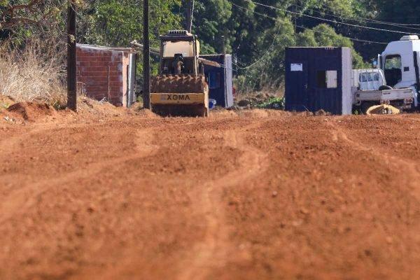 Invasão de terra na região entre a fazenda Santa Prisca e DF 001 no km 41