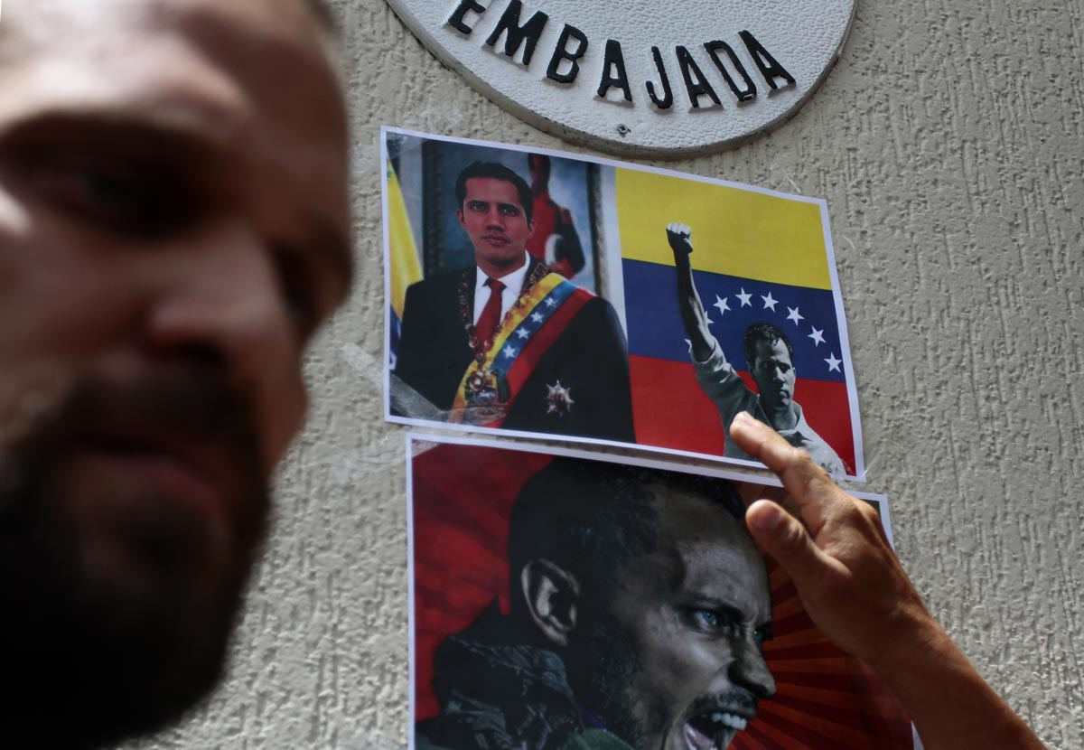 Venezuelans In Ecuador Rally In Support Of Juan Guaidó