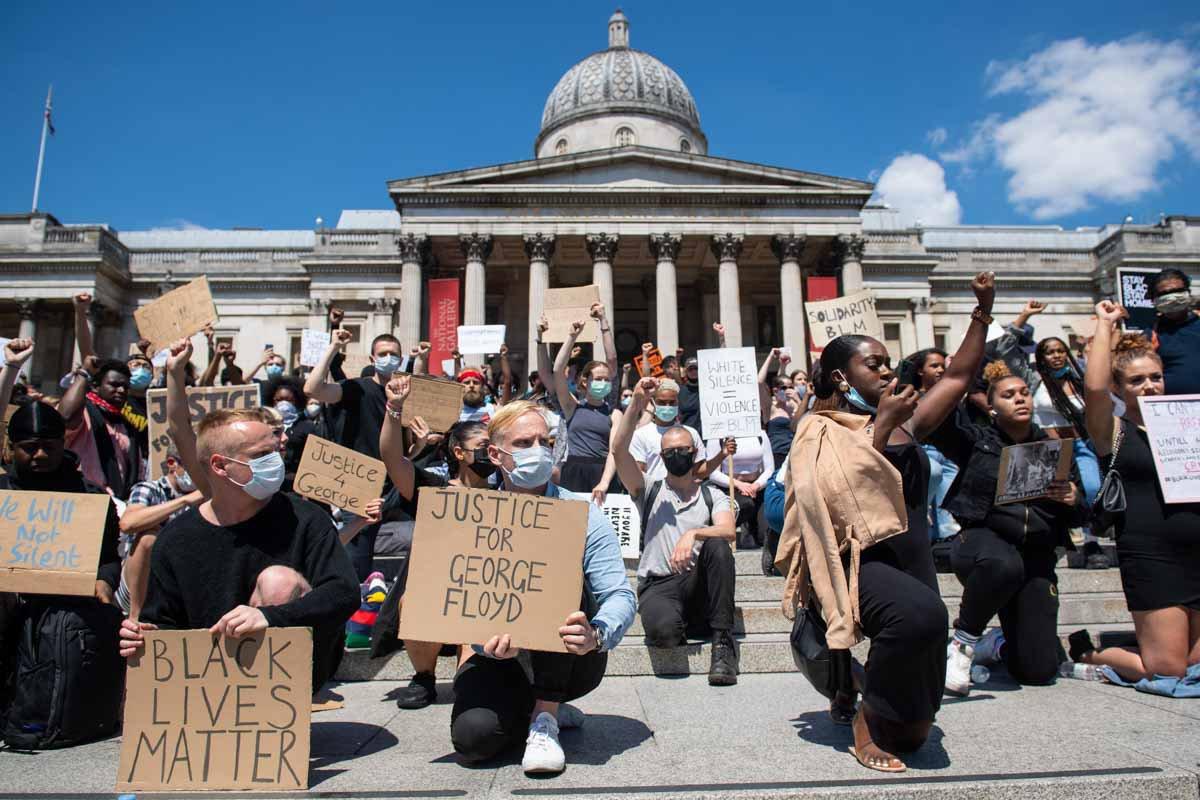 protestos pela morte de George Floyd nos EUA
