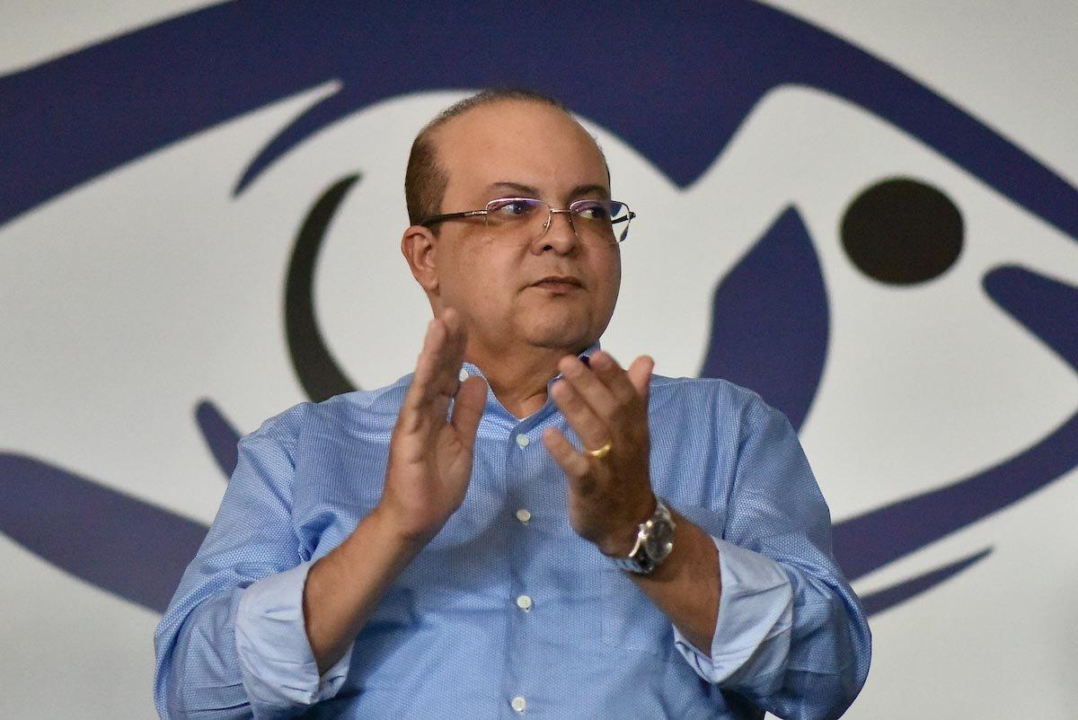 Governador de Brasília Ibaneis Rocha GDF