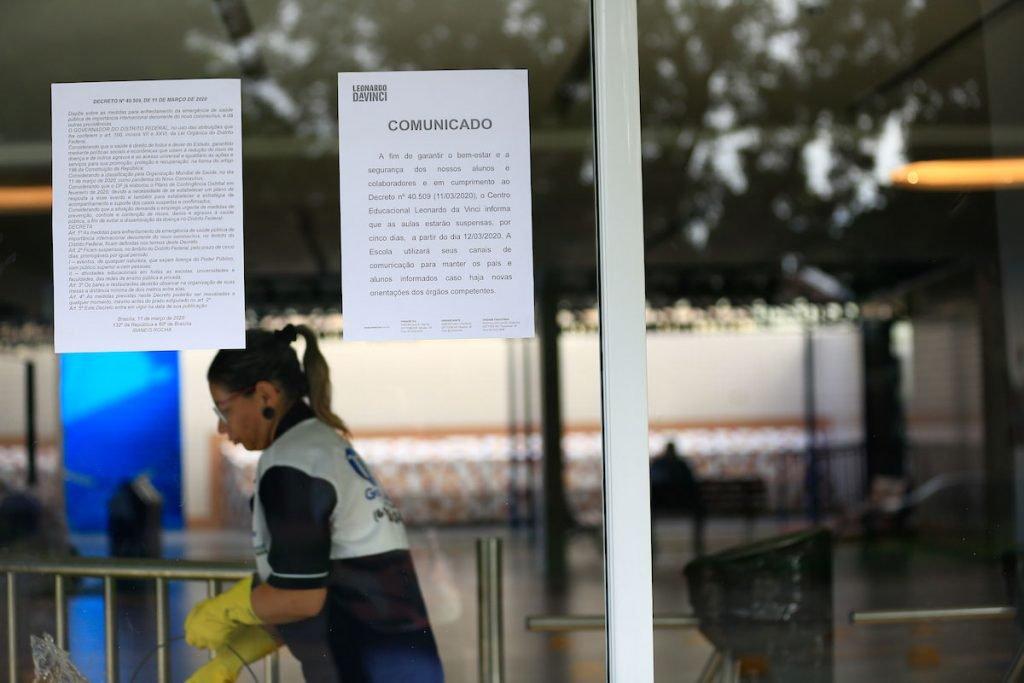 Pandemia decreto fecha escolas