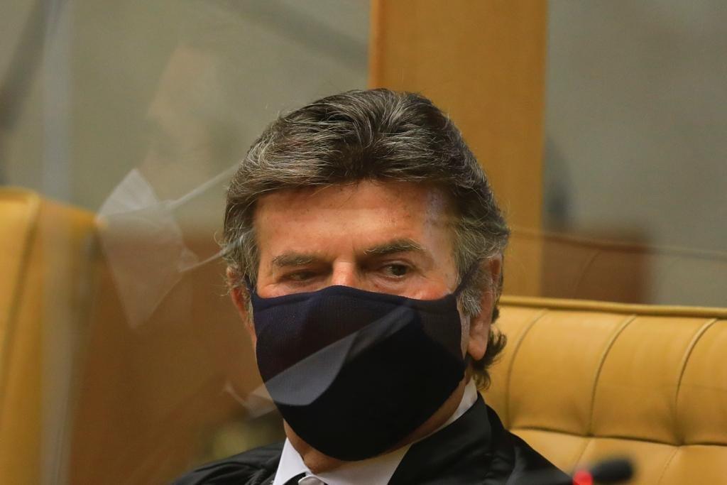 Cerimônia posse do ministro Luiz Fux na presidência do Supremo Tribunal Federal STF