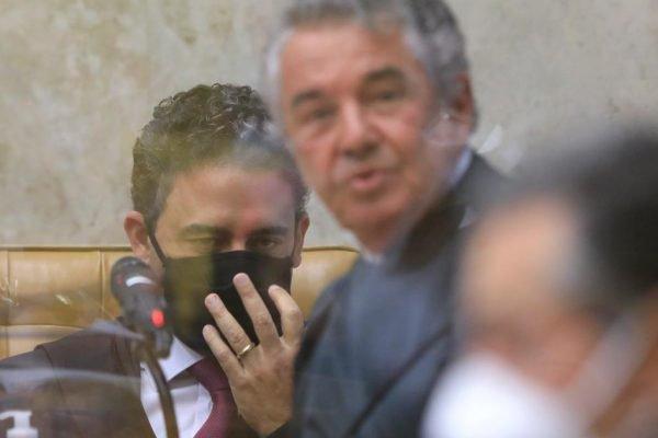 Ministro Marco Aurélio fez discurso de boas-vindas a Luiz Fux