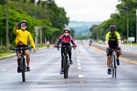 eixão do lazer em brasília esporte bicicleta periodo carnaval 2021