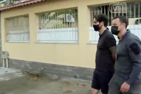 prisao jairinho e mãe do henry Monique Medeiros durante prisão 1