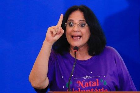 Ministra Damares ALves Comemoração do Dia Internacional da Pessoa com Deficiência e do Dia Internacional do Voluntário, no palácio do Planalto 14