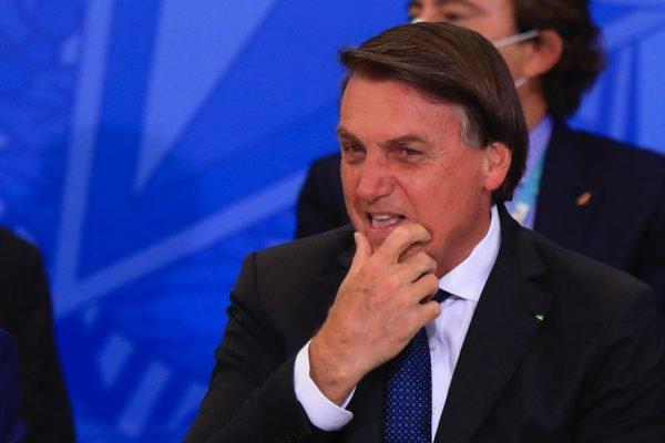 Bolsonaro durante a Comemoração do Dia Internacional da Pessoa com Deficiência e do Dia Internacional do Voluntário, no palácio do Planalto 1
