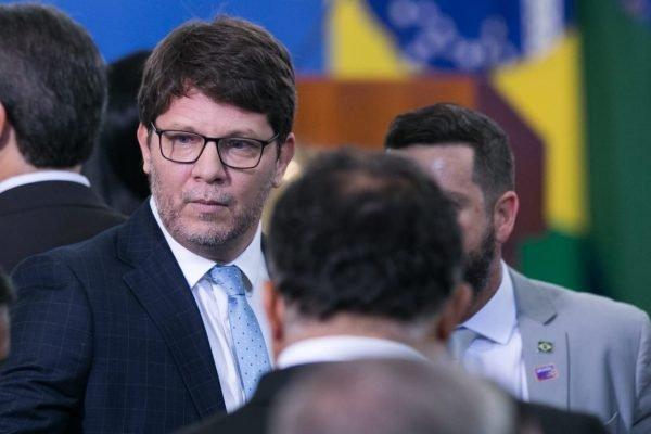 Mário Frias durante Posse do novo ministro do turismo, Gilson Machado durante evento no planalto 1
