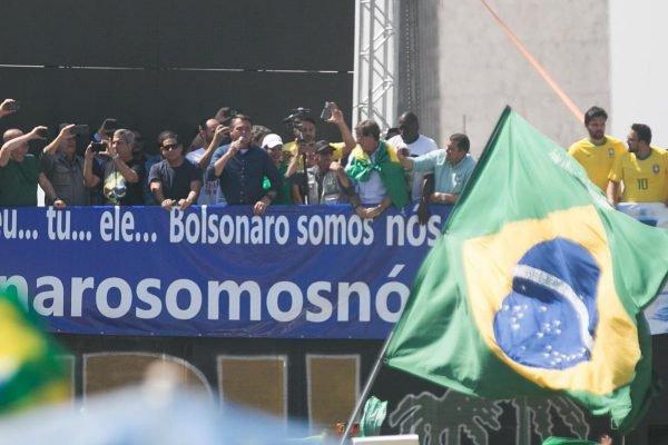 7 de setembro protesto brasil brasilia bolsonaro stf esplanada DF