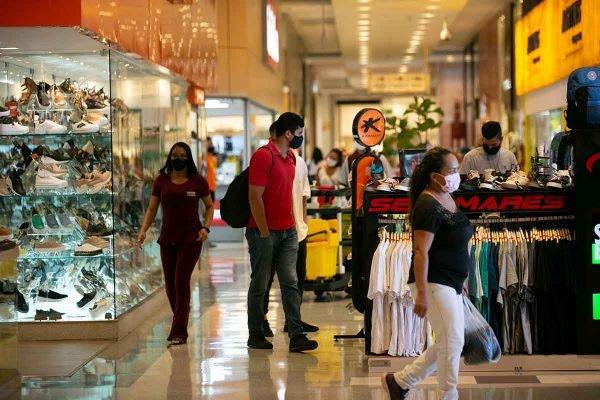 Pandemia - reabertura dos shopping no Distrito Federal
