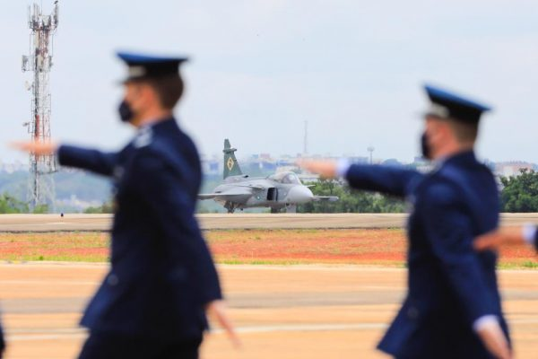 Comando da Aeronáutica celebra Dia do Aviador e Dia da Força Aérea Brasileira - Apresentação do novo caça F-39E Gripen